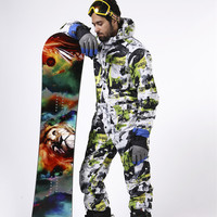 Saenshing una sola pieza traje de esquí hombres chándal impermeable Rusia Mono de esquí chaqueta de nieve transpirable traje de esquí de montaña para los hombres