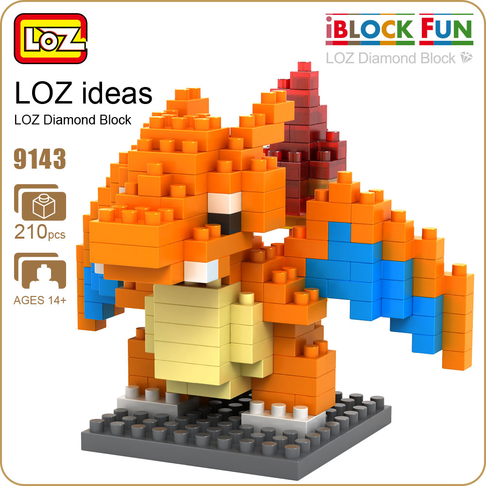 LOZ Diamond Mini Building Blocks Action Figure DIY Diamond Block Buildings Game Enlighten Brick Toys Adults Figuring Nano 9143