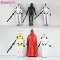 [Bainily] 6 unids/set 15-17 CM Clone Trooper de Star Wars Yoda El Caballero Negro PVC Figuras de Acción Muñecos de juguete de Regalo de Los Cabritos 37000 S