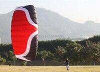 Бесплатная shippingW5 5 квадратных метров quad линии Кайт surf парашют параплан Пипа открытый Хохма Спорт Кайт строка завод весь
