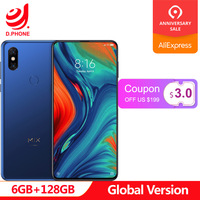 Presale 5G Network Supported Global Version Xiaomi Mi MIX 3 Snapdragon 855 6GB 128GB 6.39 AMOLED Screen Dual Front Camera Phone