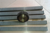 10Pcs 1.5Mod 1.5 Modulus High Precision Gear Rack steel 20*20*500mm + 10Pcs 1.5M 30teeth pinion cnc rack mod 1.5 rack