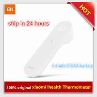 Original Xiaomi Mijia IHealth Thermometer Electronic LED Digital Display Baby Thermometer Non Contact Body Infrared Thermometer