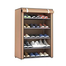 Non woven Shoe Cabinet Easy Assembly 3 4 5 Tiers Living Room Shoes Storage Furniture Space Saving Shoe Rack Organizer for Home