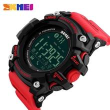 SKMEI Марка Для мужчин Смарт часы Bluetooth Водонепроницаемый Спорт на открытом воздухе цифровые часы шагомер электронный счетчик калорий Наручные часы