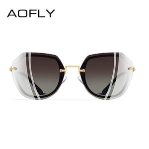Image 3 - AOFLY DESIGN Fashion Women Sunglasses Vintage Retro Gradient Polarized Sun glasses Female Summer Style BRAND Shades Gafas A110