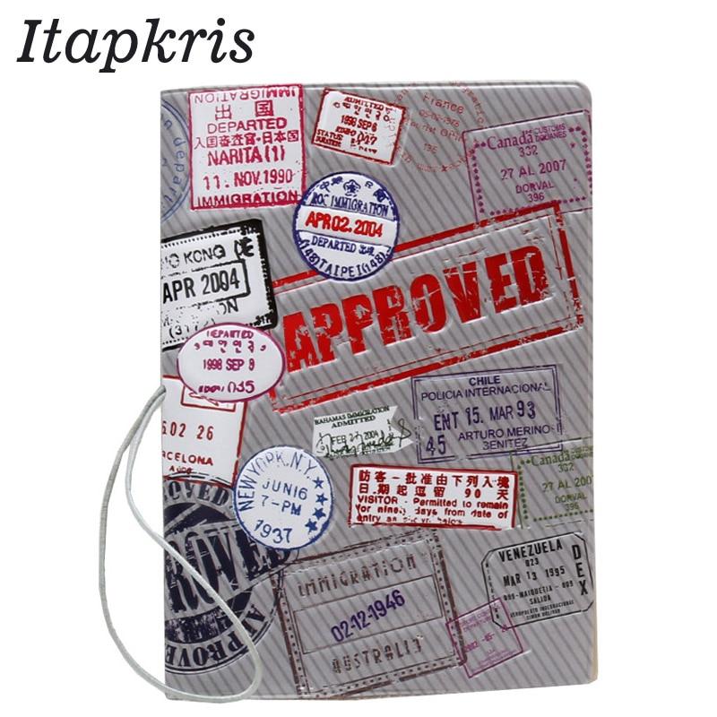 9 Style Fashion High Quality Passport Cover Card Holder Travel Organization Holder Cartoon Passport Case For A Passport passport a passport pb148557 139