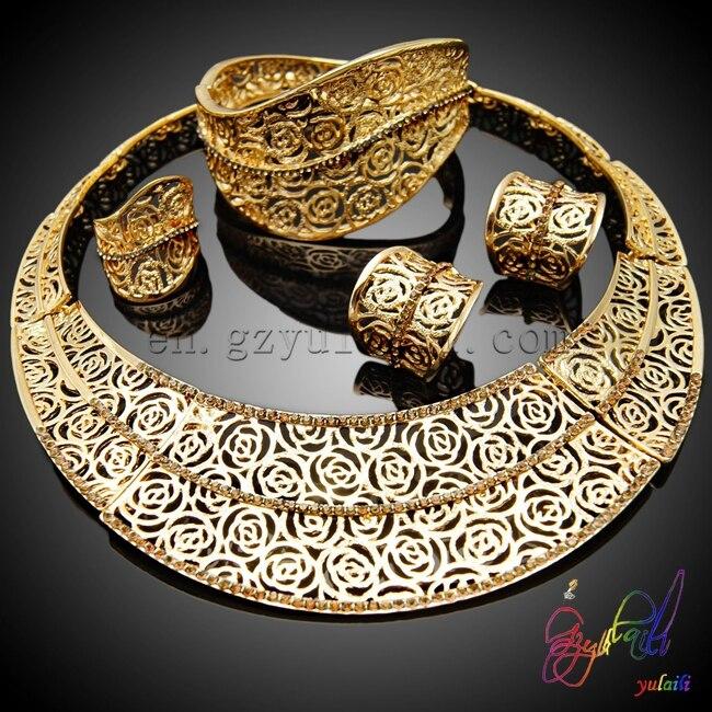 Free shipping high quality fashion jewelry set costume wedding