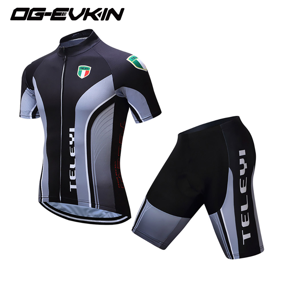 2018 Men Cycling Jersey Set Short Sleeve Maillot Ropa Ciclismo Cycling Clothes Bike Wear MTB Bicycle Shirts Sportswear Pro Team