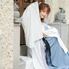 Chất Lượng cao Cổ Váy Hanfu Nữ Sinh Viên Trang Phục Thêu Tang Phù Hợp Với Cổ Điển Cổ Tích Công Chúa Trang Phục Cổ Giai Đoạn Ăn Mặc