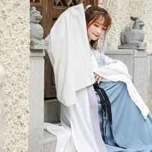 คุณภาพสูงโบราณ Hanfu ชุดนักเรียนหญิงชุดเย็บปักถักร้อยชุด Tang คลาสสิก Fairy Princess ชุดโบราณชุดเวที