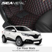 For LHD Renault KADJAR 2017 2016 2015 Car Floor Mats Rugs Auto Rug Covers Car Styling