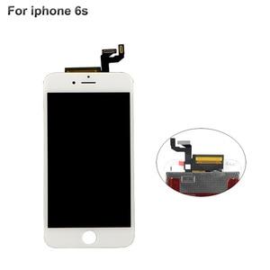 Image 4 - Pantalla LCD de grado AAA para iPhone 6, 5s, 5c, 6s plus, montaje de marco de bisel de pantalla táctil, LCD blanco y negro para iPhone 6