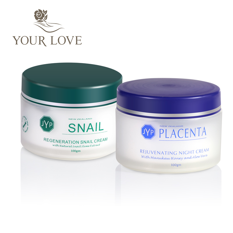 100%NewZealand Regeneration Snail Day Cream+Sheep Placenta Night Cream Anti wrinkle cream Face care Moisturizing Whitening cream