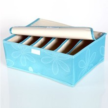 Oxford fabric 6 cells receive box folding storage leaves design 33*13*14CM free shipping