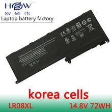 цена Genuine for HP Envy 15-3000 660002-541 660152-001 HSTNN-DB3H HSTNN-UB3H LR08 LR08072XL LR08XL TPN-I104 Laptop Battery