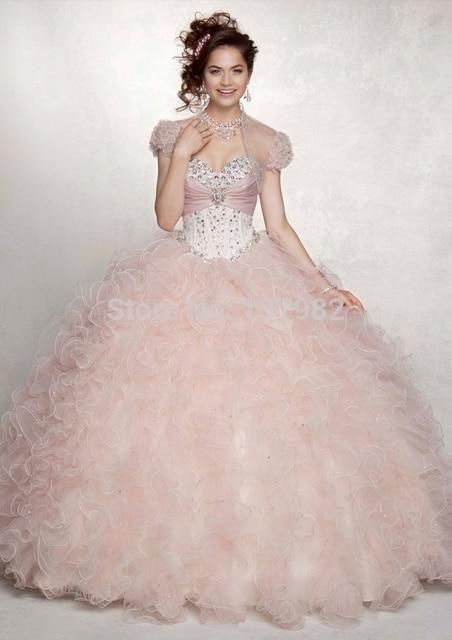 envo gratis tailor made vestido de fiesta novia cascading ruffle con cuentas quinceaera vestidos modernos