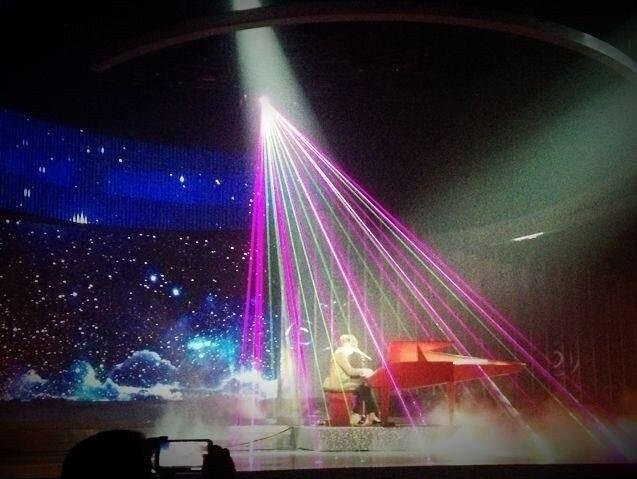 Flightcase + Big power Multi kleur RGB Laser Projector 15 W Podium lichten 40 k X/Y flips power knoppen stage light disco event ILDA - 4