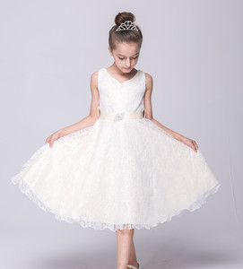 Image 5 - CAILENI Kid Girls Princess Dress Children Lace Wedding Birthday Party Dresses White Black Kids Dancing Frock For 3 14 Years
