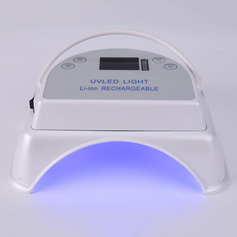 Wireless 64W UV LED Lamp for Nail Polish Batteries 5000mAh Automatic Induction Timer Rechargeable Nail Dryer Manicure UV Lamp