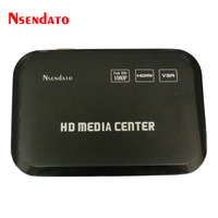 1080P Full HD Multimedia Media Player Center HDMI VGA AV USB SD MMC Port Multi Media