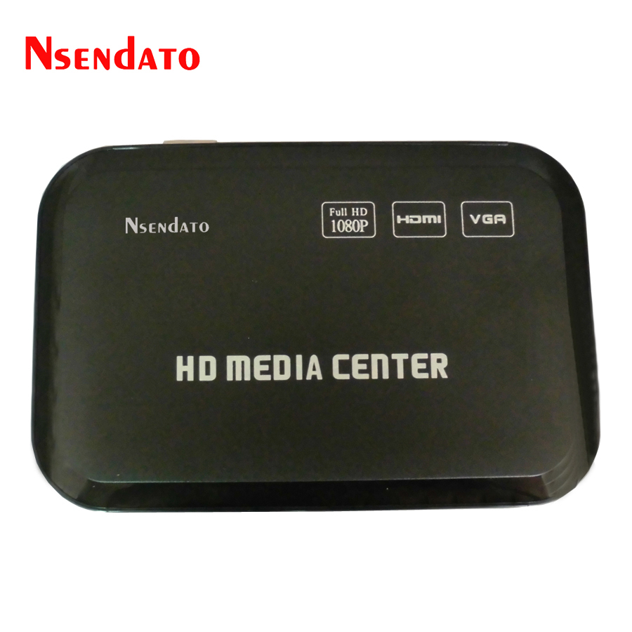 1080P Full HD Multimedia Media Player Center HDMI VGA AV USB SD/MMC Port Multi Media MKV Player With Remote Control for Dual USB1080P Full HD Multimedia Media Player Center HDMI VGA AV USB SD/MMC Port Multi Media MKV Player With Remote Control for Dual USB