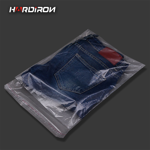 0 12mm New Environmentally Friendly Package Materials Clothing Bag Soft Pe Self Adhesive Pouch Strong