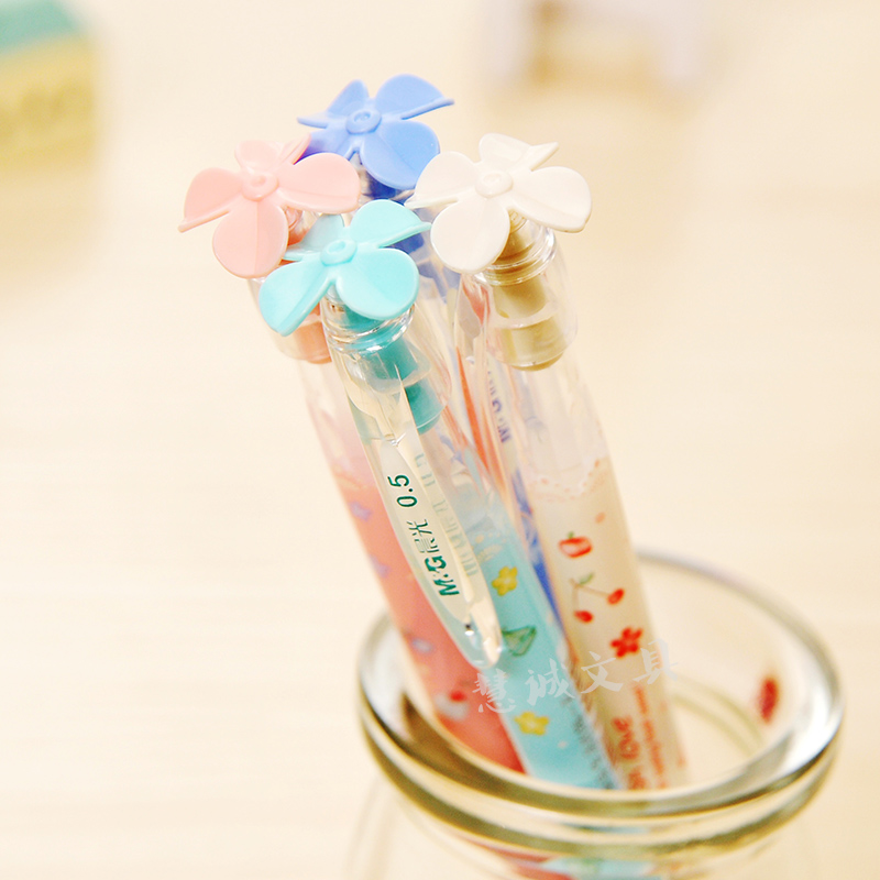 Chenguang  stationery 0.5  fruit series automatic pen mechanical pencil