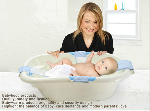 top fashion real banheira baby adjustable baby bathtub bath tub rings seat ring newborn safety. Black Bedroom Furniture Sets. Home Design Ideas