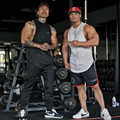 Muscle Guys New Brand gyms clothing Fitness Men Tank Top Golds sporting Vest Bodybuilding Stringer cotton sexy Undershirt men