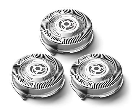 3 pièces Rasoir Lame Rasoir Remplacement Tête de Rasoir pour Philips Norelco SH50/52 AT750 AT751 S5000 S5079 AT890 PT710 PT720 PT721PT722