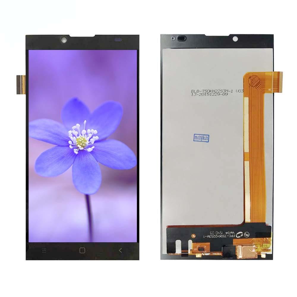 Buena calidad para Prestigio Grace Q5 PSP5506 PSP 5506 DUO pantalla Lcd con pantalla táctil digitalizador Asamblea