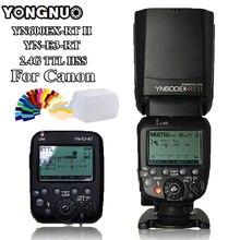 YONGNUO YN600EX-RT II Auto Wireless HSS TTL Flash Speedlite + YN-E3-RT Flash Controller Trigger for Canon 5D3 7D 6D 70D 60D 5D