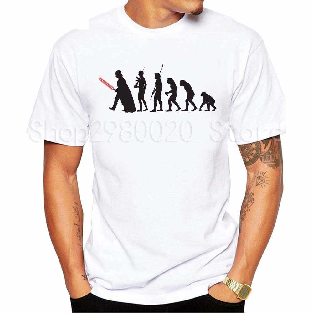 Camiseta a la Moda hombre star wars personalizada Camiseta El Darth King retro impreso cool tops de manga corta cuello redondo Camiseta casual tops