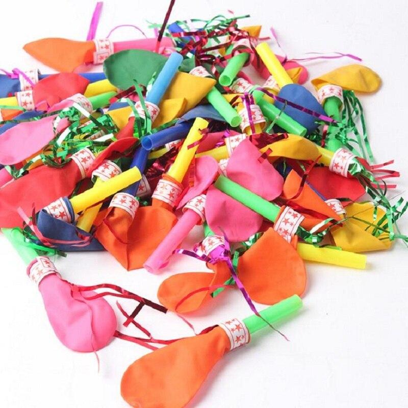 globo unids globos fiesta de cumpleaos de globos con silbato silbato juguetes sern llamados apoyos