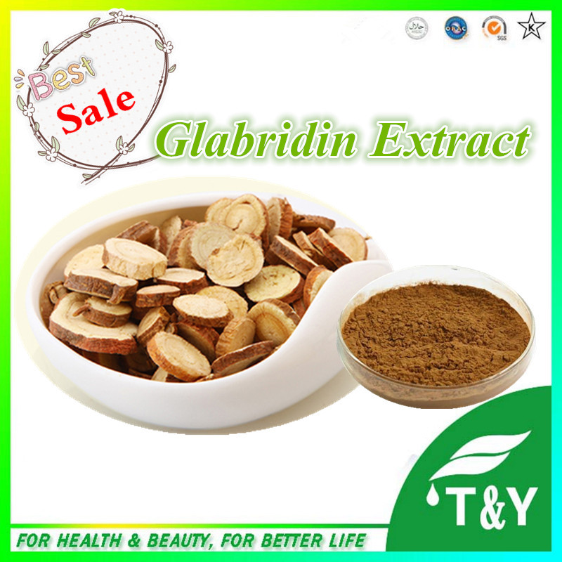100%Natural and Pure Anti-oxidation Licorice Root Extract Glabridin Powder 5:1 400g