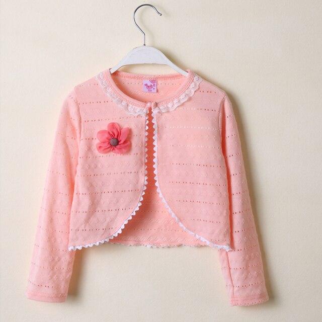 681c7b741 2018 Baby Girls Cardigan Sweater Outerwear 100% Cotton Pink Baby ...