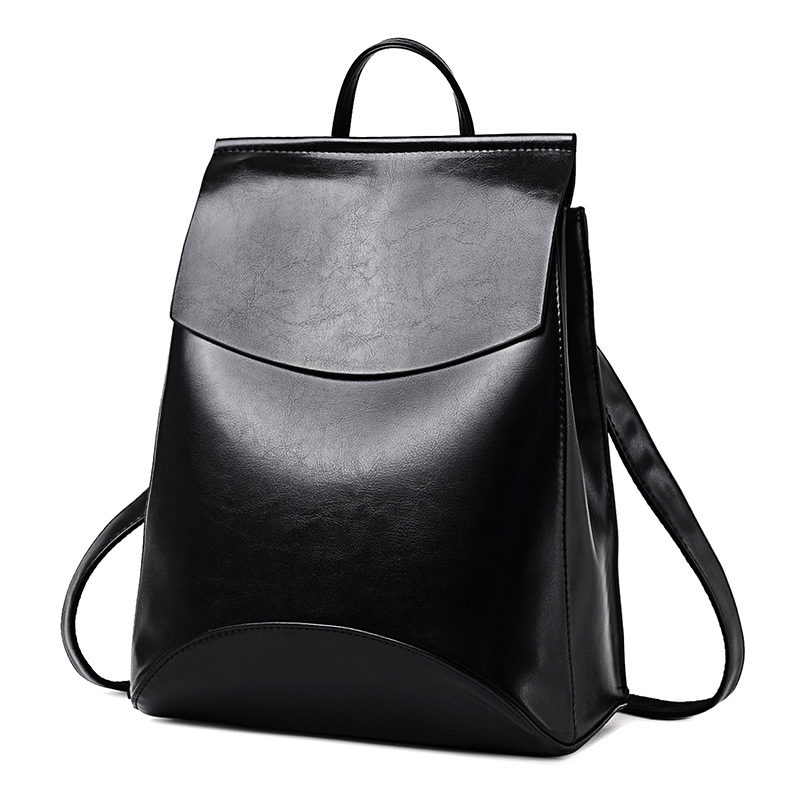 2018 HOT Fashion Women Backpack High Quality PU Leather Backpacks for Teenage Girls Female School Shoulder Bag Bagpack mochila(China)