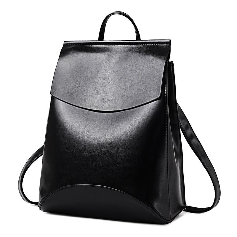 Hot Fashion Women Backpack High Quality Pu Leather Backpacks For Teenage Girls Female School Shoulder Bag Bagpack Mochila