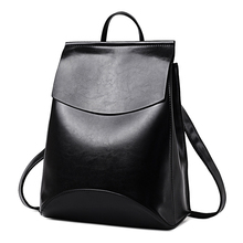 2018 HOT Fashion Women Backpack High Quality PU Leather Back