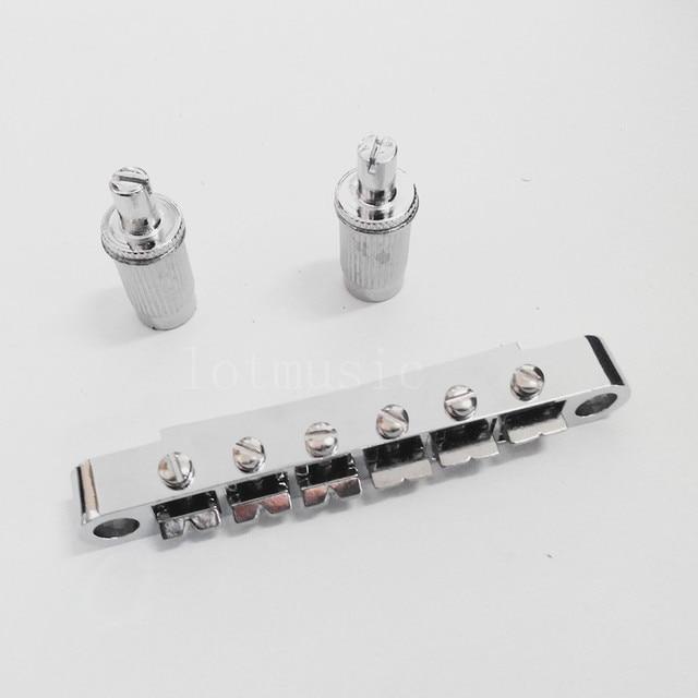 Tune-o-Matic Bridge ABR-1 style Chrome for LP Silver