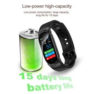 Image 5 - KEBIDU QW16 Astuto Della Vigilanza di Sport di Fitness di Attività della Frequenza Cardiaca Tracker Orologio Pressione Sanguigna Intelligente Orologio per Android SmartWatch