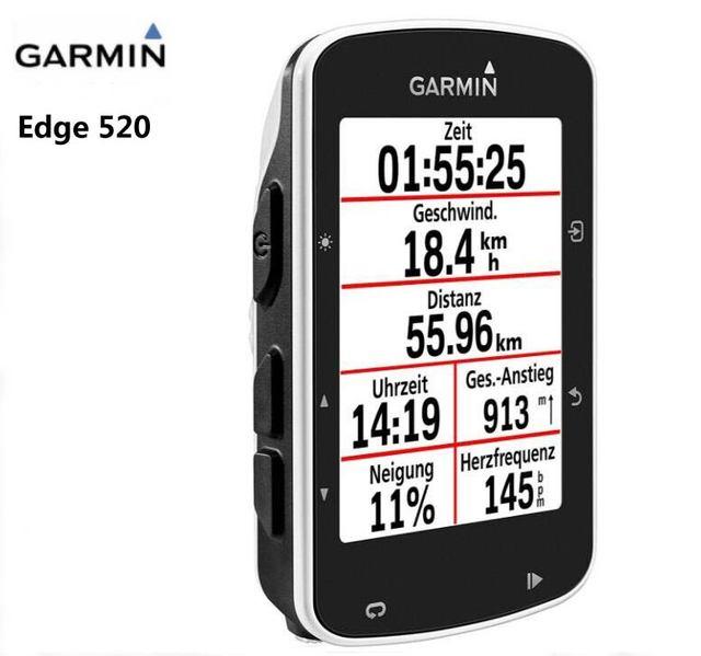 Garmin Edge 520 Ciclismo Ciclocomputer ABILITATA GPS Mount Road/MTB Del Manubrio DELLA BICI Garmin 200 510 810 velocità Sensore di cadenza