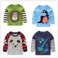 VIDMID Boys T Shirt Long Sleeves Children S T Shirts Autumn Cartoon Kids Shirts For Boys