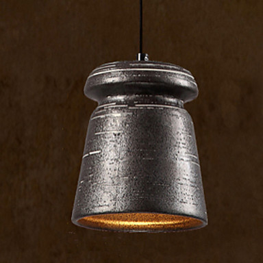 American Loft Vintage Industrial LED Pendant Light Fixture Lighting Kitchen  Dining Room Ceramic Hanging Lamp For