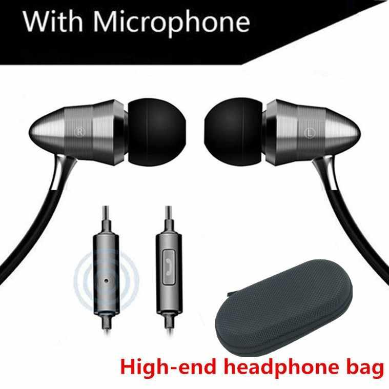 Wersja metalowa Linear HIFI Fever zatyczki do uszu słuchawki douszne Sport Bass Sound Subwoofer słuchawki jakość dźwięku ciężki basowy zestaw słuchawkowy