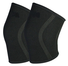 Knee Sleeves 7mm by WOD Wear - Powerlifting, Bodybuilding, Cross Training, Olympic Weightlifting and Weight Training