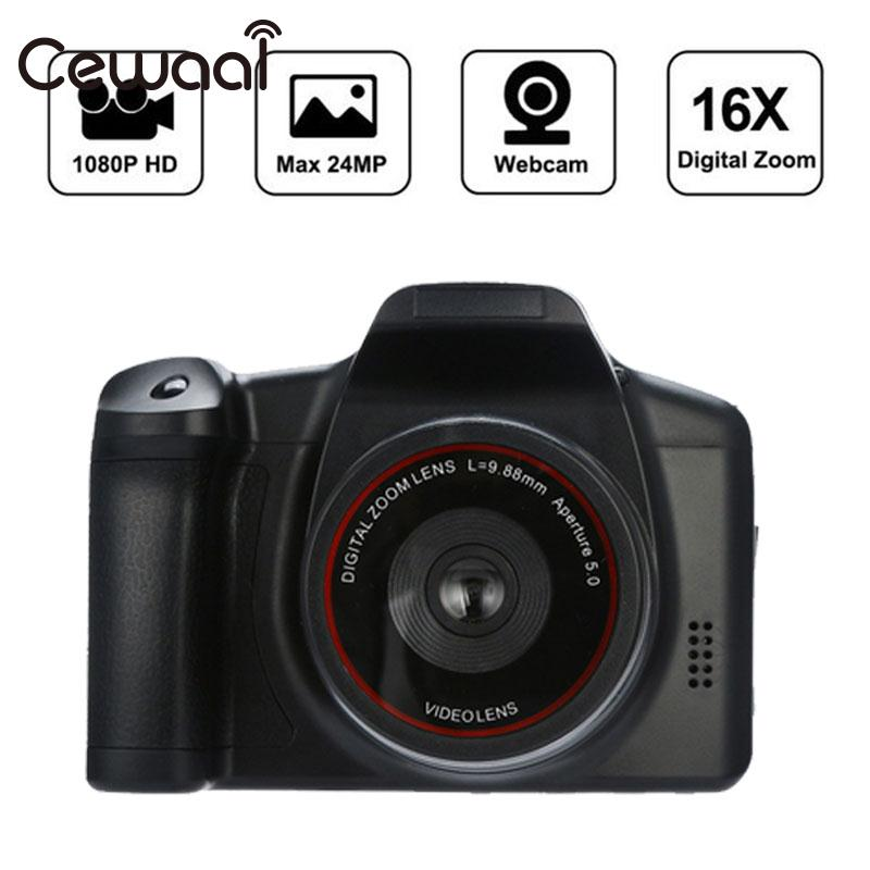 Cewaal Flash Lamp Plastic Shooting Video Camera Wedding Record Digital Camcorder Convenient DVR DV Camcorder Handheld 1