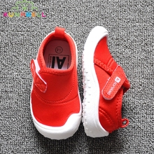 2017 Baby Boys Girls Canvas Shoes Children Brand Sneakers Toddlers Fashion Breathable Flats Shoe Little Kids Slip-On Shoe C389