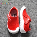 2017 shoes crianças tênis de marca de lona das meninas dos meninos do bebê crianças moda respirável flats sapato pouco crianças slip-on sapato c389